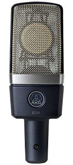 Best Microphones For Recording Vocals - AKG C214