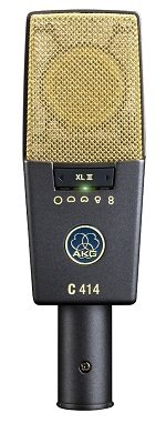 Best Microphones For Recording Electric Guitar - AKG C414 XLII