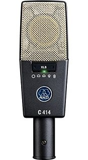 Best Microphones For Recording Electric Guitar - AKG C414 XLS
