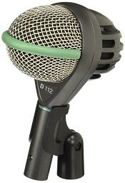 Best Microphones For Recording Drums - AKG D112 mk II