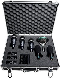 Best Microphones For Recording Drums - AKG Pro Audio Rhythm Pack Drum Microphone Set