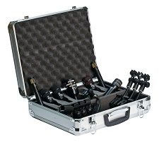 Best Microphones For Recording Drums - Audix DP7 7-Piece Drum Mic Package