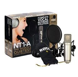 Best Large Diaphragm Condenser Microphones - Rode NT1-A