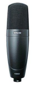 Best Large Diaphragm Condenser Microphones - Shure KSM32