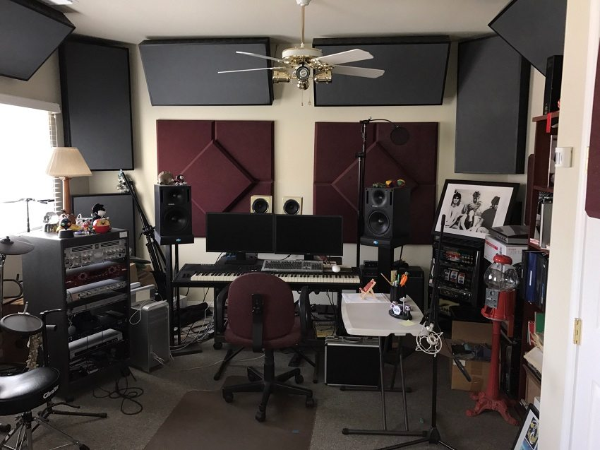 Soundproof Your Home Music Recording Studio
