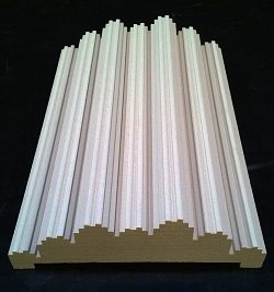 Best Acoustic Wall Treatment Panels - Top Acoustics Fractal Step Acoustic Diffuser