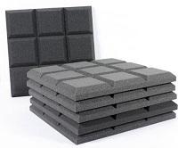 Best Acoustic Wall Treatment Panels - Auralex Sonoflats