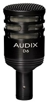 Best Microphones For Bass Guitar - Audix D6