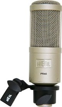 Best Microphones For Bass Guitar - Heil PR40