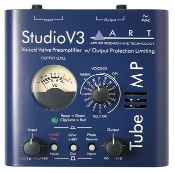 Best Mic Preamps Under $300 - ART Tube MP Studio V3