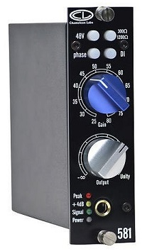 Best 500 Series Mic Preamps - Chameleon Labs CL 581