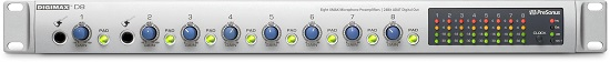 Best Mic Preamps Under $500 - Presonus Digimax D8