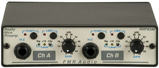 Best Mic Preamps Under $500 - FMR Audio RNP8380 Really Nice Preamp