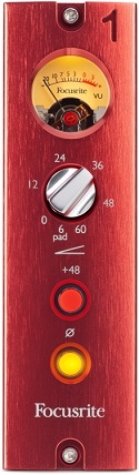 Best 500 Series Mic Preamps - Focusrite Red 1