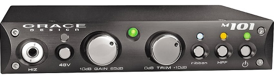 Best Mic Preamps Under $1,000 - Grace Design M101