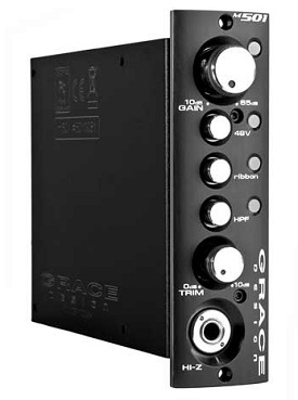Best 500 Series Mic Preamps - Grace Design M501
