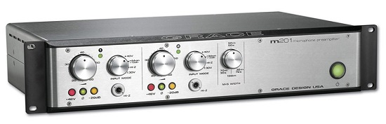 Ultimate Mic Preamps Over $1,000 - Grace Design M201
