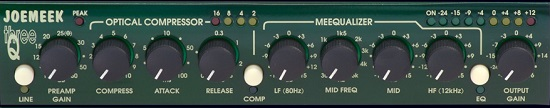Best Mic Preamps Under $300 - Joemeek ThreeQ