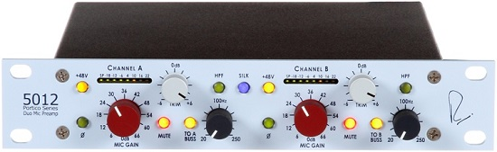 Ultimate Mic Preamps Over $1,000 - Neve Portico 5012