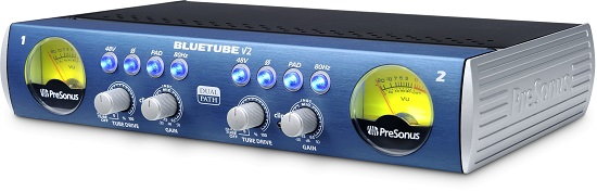 Best Mic Preamps Under $300 - PreSonus Bluetube DP V2
