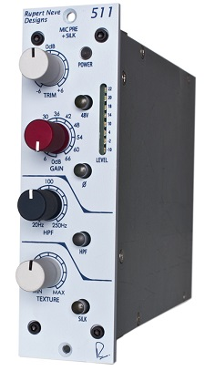 Best 500 Series Mic Preamps - Rupert Neve Designs Portico 511