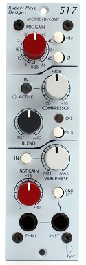 Best 500 Series Mic Preamps - Rupert Neve Designs Portico 517