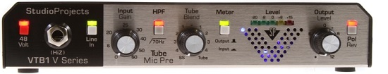Best Mic Preamps Under $300 - Studio Products VTB1