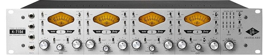 Ultimate Mic Preamps Over $1,000 - Universal Audio 4-710d