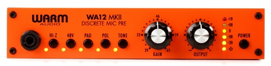 Best Mic Preamps Under $1,000 - Warm Audio TB12 Tone Beast