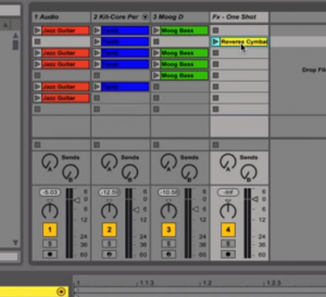 Ableton Live Session View - Best DAW/ Recording/ Music Production Software