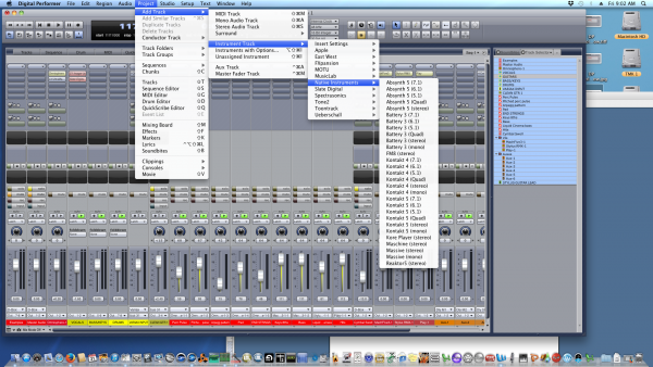 Digital Performer Virtual Instruments - Best DAW/ Recording/ Music Production Software