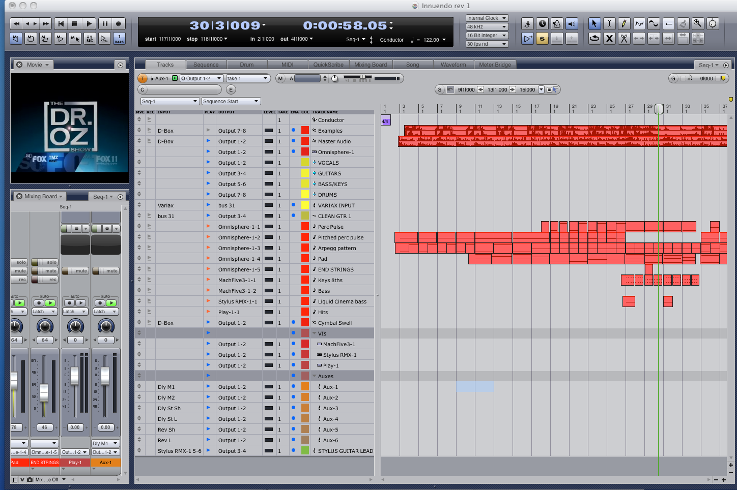 MOTU Digital Performer 9 - Best DAW Music Production & Recording Software