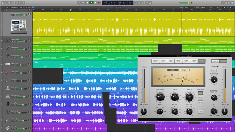 Logic Pro X - Best DAW/ Recording/ Music Production Software