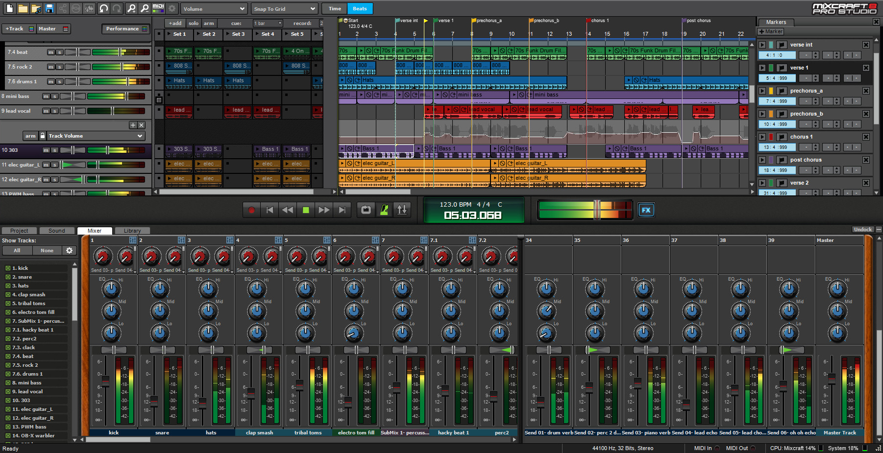 Mixcraft 8 - Best DAW/ Recording/ Music Production Software