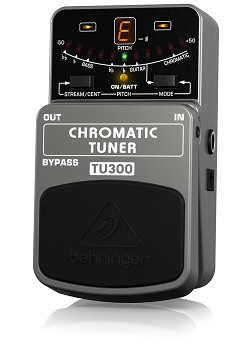 Behringer TU300 Chromatic Pedal Tuner - Best Guitar Tuners For Acoustic Guitars