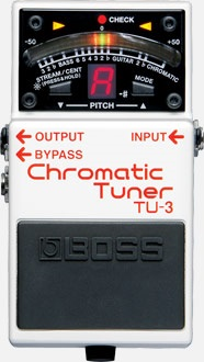 Boss TU3 Chromatic Tuner Pedal - Best Guitar Tuners For Electric Guitars