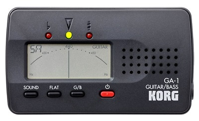 Korg GA1 Guitar and Bass Chromatic Tuner - Best Guitar Tuners For Electric Guitars