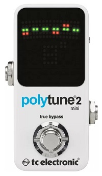 TC Electronic PolyTune 2 Mini Tuner - Best Guitar Tuners For Electric Guitars