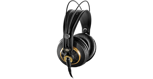 AKG K240 Semi Open-Back Headphones - Best Headphones Under $100