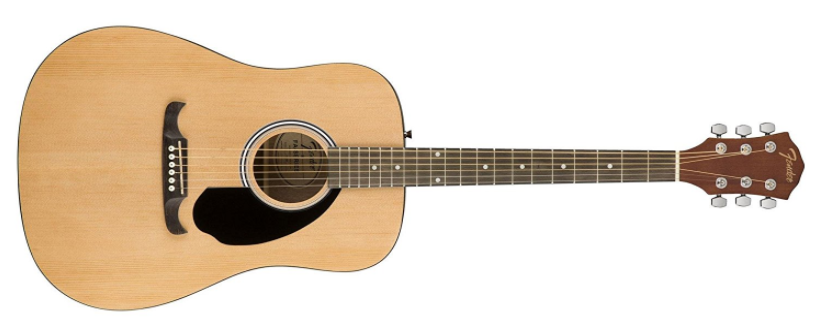 Fender FA-125 Acoustic Guitar - Best Acoustic Guitars For Beginners Under $200