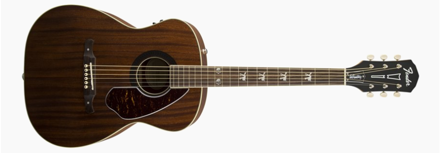 Fender Tim Armstrong Hellcat Electric-Acoustic Guitar - Best Acoustic Guitars (From $200 to $500)
