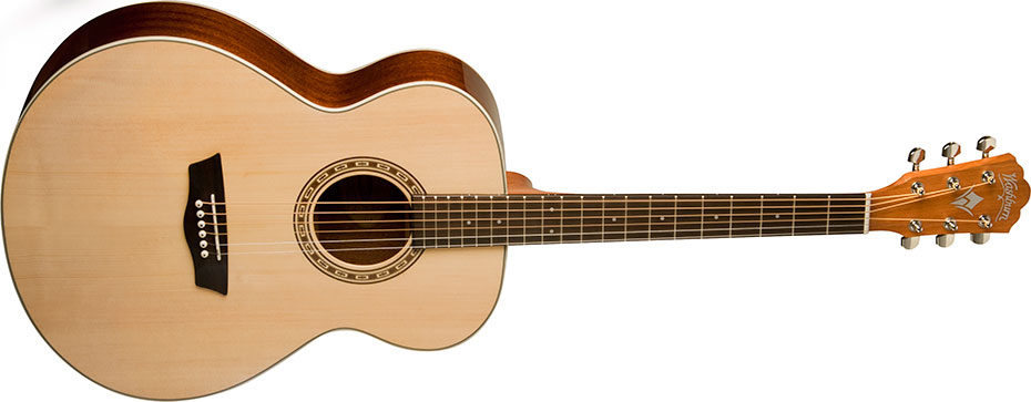 Washburn Harvest Series WG7S Acoustic Guitar - Best Acoustic Guitars For Beginners (Under $200)