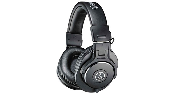 Audio-Technica ATH-M30x Closed-Back Headphones - Best Headphones Under $100