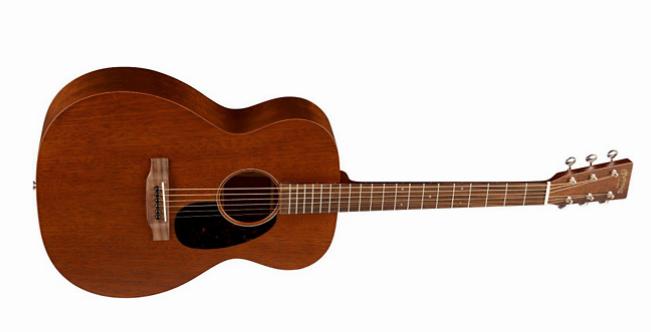 Auditorium style acoustic guitar