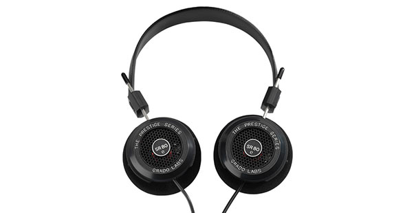 Grado Prestige Series SR80e On-Ear Open-Back Headphones - Best Headphones Under $100