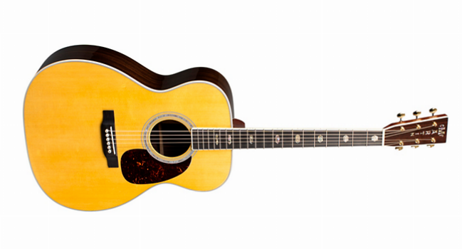 Jumbo acoustic guitar