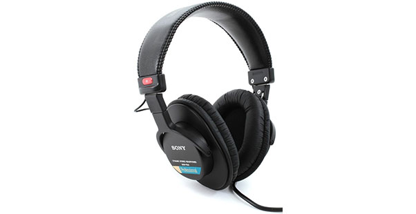 Sony MDR-7506 closed-back headphones - Best Headphones Under $100